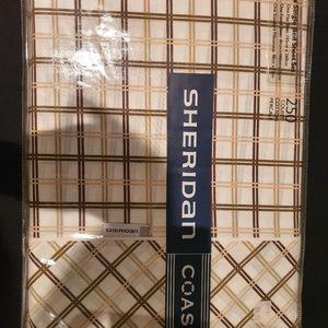 NWT Sheridan single bed sheets set
